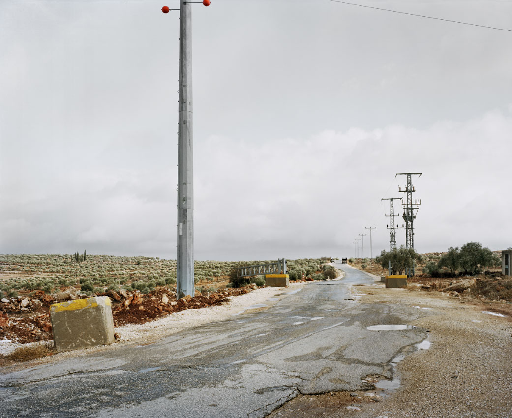 Access road to the Palestinian village of Majdal Bani Fadil.<br/> West Bank, Area C – full Israeli control over security, planning and construction.