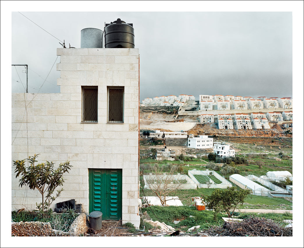 Beitar Illit Israeli settlement, seen from the Palestinian village of Wadi Fukin.<br/> West Bank, Area B – restricted area between the Separation Barrier and Israel.
