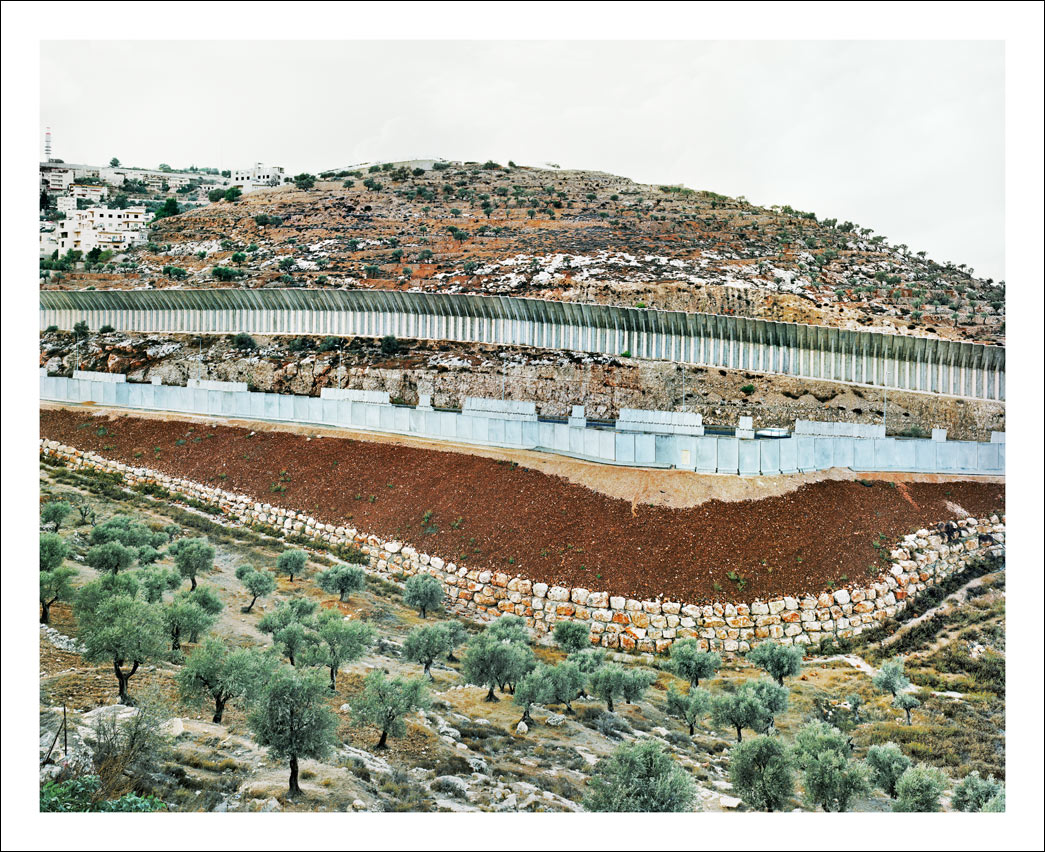 Separation Barrier – Route 60, South of Jerusalem.<br/> West Bank, Area B – Palestinian civil control, Israeli military control.